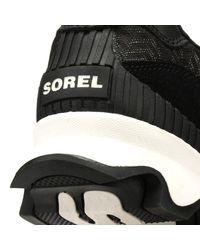 Sorel - Womens Black Kinetic Speed Trainers - Lyst