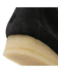 Clarks - Womens Black Suede Weaver Boots - Lyst