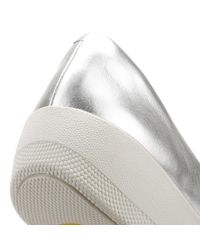 Fitflop - Metallic Womens Silver Superballerina Shoes - Lyst