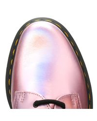 Dr. Martens - Dr. Martens Womens Mallow Pink 1461 Shoes Women's Casual Shoes In Pink - Lyst