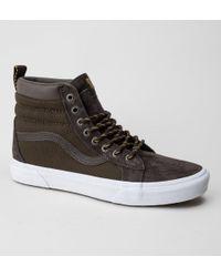 add7bf022980b4 Vans Sk8-hi Mte Boots in Black for Men - Lyst