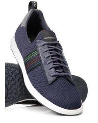 Paul Smith - Blue Rabknit Shoe for Men - Lyst