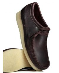 Clarks - Brown Wallabee Leather for Men - Lyst