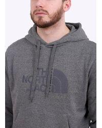 The North Face - Gray Light Drew Peak Hoodie for Men - Lyst