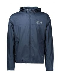 BOSS - Blue Jeltech Jacket for Men - Lyst