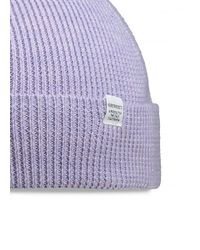 Norse Projects - Purple Norse Rib Beanie for Men - Lyst