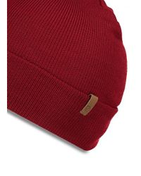 Fjallraven - Red Classic Knit Hat for Men - Lyst