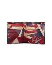 Paul Smith - Blue Union Jack Bilfold Wallet for Men - Lyst