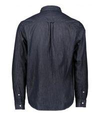 Carhartt - Blue Ls Civil Shirt for Men - Lyst