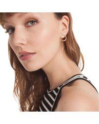 Trina Turk - Metallic Hollywood Hills Hoop Post Earrings - Lyst