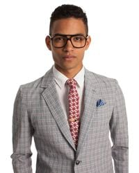 Mr Turk - Red Floral Necktie for Men - Lyst