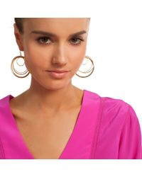 Trina Turk - Metallic Swirling Pools Earrings - Lyst
