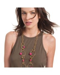 Trina Turk - Multicolor Hollywood Hills Link Necklace - Lyst