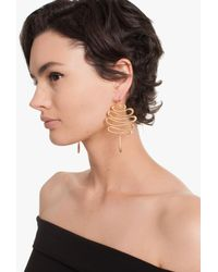 Trina Turk - Multicolor Gold Rush Wavy Earring - Lyst