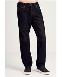 True Religion | Blue Ricky Two Tone Corduroy Mens Pant for Men | Lyst
