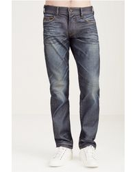 True Religion | Blue Ricky Super T Conductor Jeans for Men | Lyst