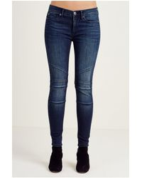 True Religion | Black Carrie Flared Jeans | Lyst