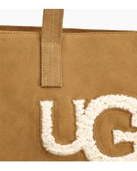 Ugg - Brown Women's Share This Product Alina Sheepskin Tote - Lyst