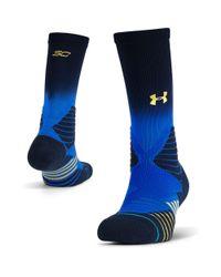 Under Armour Blue Men's Ua X Stance Sc30 Crew Socks for men