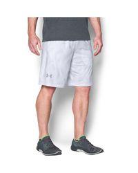 "Under Armour - White Men's Ua Raid Printed 10"" Shorts for Men - Lyst"