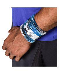 Under Armour - Blue Men's Ua Performance Wristbands for Men - Lyst
