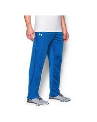 Under Armour - Blue Men's Ua Relentless Warm-up Pants – Straight Leg for Men - Lyst