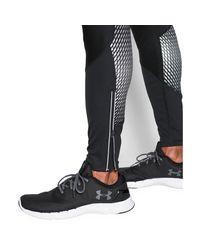 Under Armour - Black Men's Ua Storm Windstopper® Run Leggings for Men - Lyst