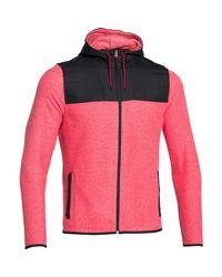 Under Armour - Black Men's Ua Coldgear® Infrared Fleece Hoodie for Men - Lyst