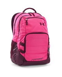 Under Armour | Pink Ua Storm Camden Ii Backpack | Lyst