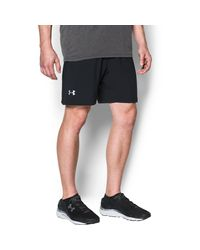 Under Armour | Black Men's Ua Launch 2-in-1 Shorts for Men | Lyst