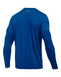 Under Armour - Blue Men's Los Angeles Dodgers Ua Techtm Long Sleeve T-shirt for Men - Lyst