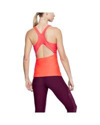 Under Armour - Red Women's Heatgear® Fashion Tank - Lyst