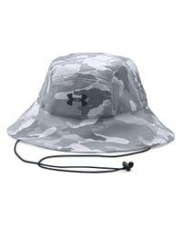 Under Armour - Gray Men's Ua Armourventtm Bucket Hat for Men - Lyst