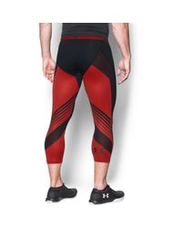 Under Armour - Black Men's Heatgear® Supervent Compression 3⁄4 Leggings for Men - Lyst