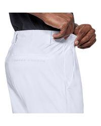 Under Armour - White Men's Ua Threadborne Pants Tapered for Men - Lyst