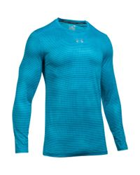 Under Armour - Blue Men's Ua Coolswitch Armour Long Sleeve T-shirt for Men - Lyst