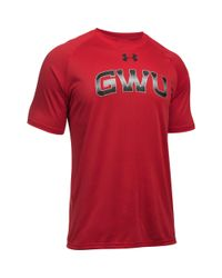 Under Armour - Red Men's Gardner–webb Ua Techtm Team T-shirt for Men - Lyst