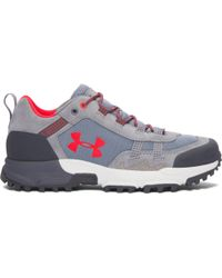 Under Armour - Gray Women's Ua Post Canyon Low Hiking Boots - Lyst