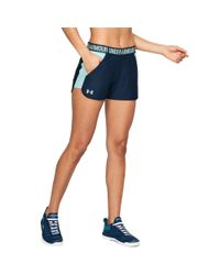 Under Armour - Blue Women's Ua Play Up 2.0 Shorts - Lyst
