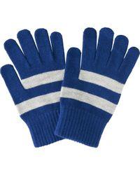 Uniqlo | Blue Men Heattech Knitted Gloves for Men | Lyst