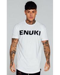 Enuki London - White Brand Carrier T-shirt for Men - Lyst
