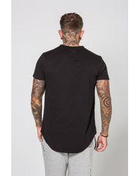Sixth June - Black Oversize Relief T-shirt for Men - Lyst