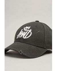 5f06dc07ee6 Kings Will Dream Distressed Baseball Cap in Black for Men - Lyst