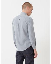Portuguese Flannel - Blue Espiga Shirt for Men - Lyst