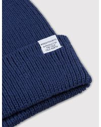 Norse Projects - Blue Cotton Watch Beanie for Men - Lyst