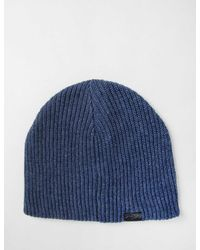 Bailey of Hollywood - Blue Bailey Nathaniel Beanie Hat for Men - Lyst