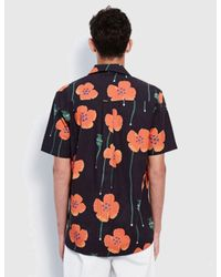Soulland - Black Juice Short Sleeve Shirt for Men - Lyst