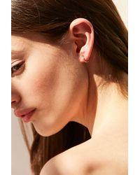 Seoul Little - Metallic X Uo 18k Gold Small Hoop Earring - Lyst