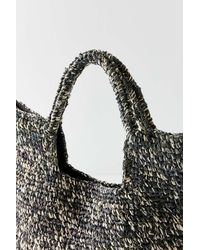 Urban Outfitters - Black Raffia Slouchy Tote Bag - Lyst
