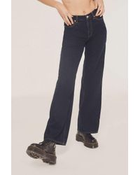 BDG - Blue Walk The Line High-rise Wide Leg Jean - Lyst
